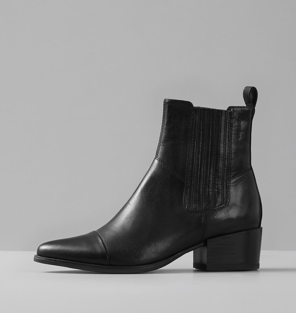 Vagabond Marja Ankle Boot Black Leather
