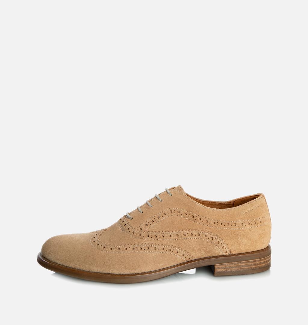 Salvatore Suede Shoes - Beige - Vagabond