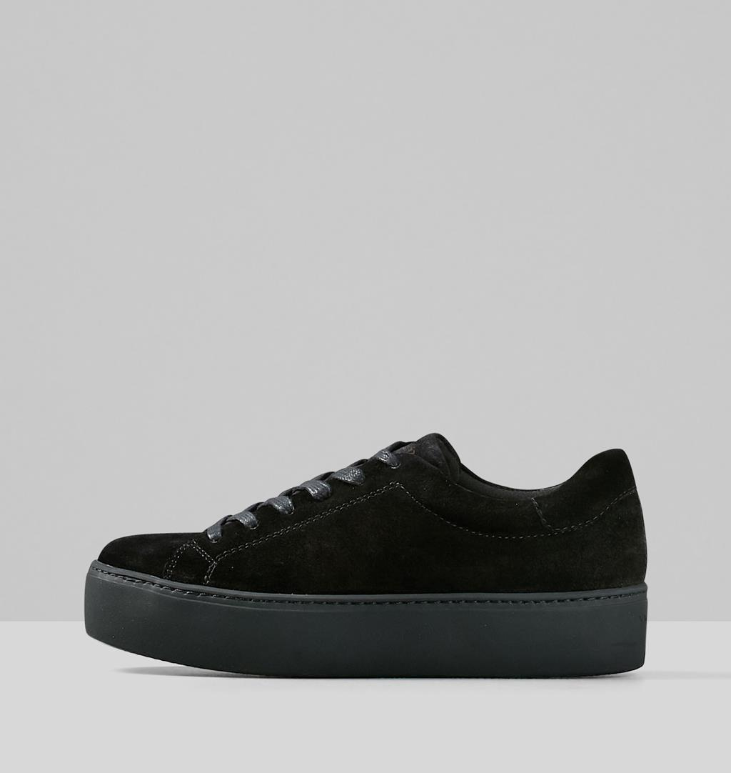 Womens Vagabond Jessie Sneakers Black Flats