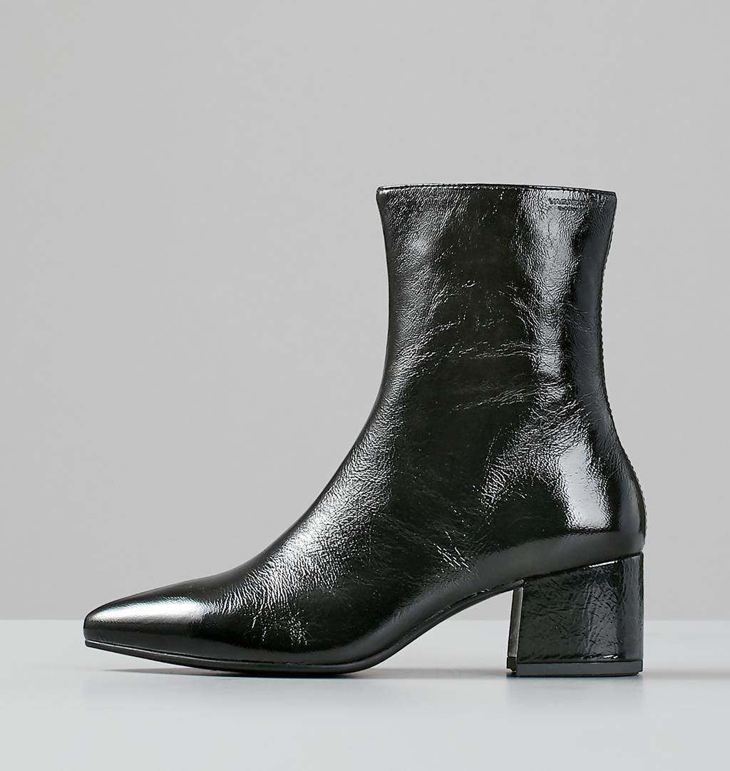 Mya Patent leather Boots - Black - Vagabond