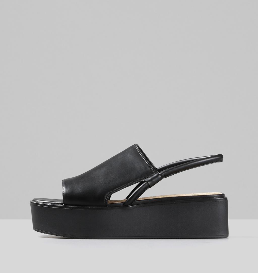 Bonnie Nonanimal Sandals - Black - Vagabond