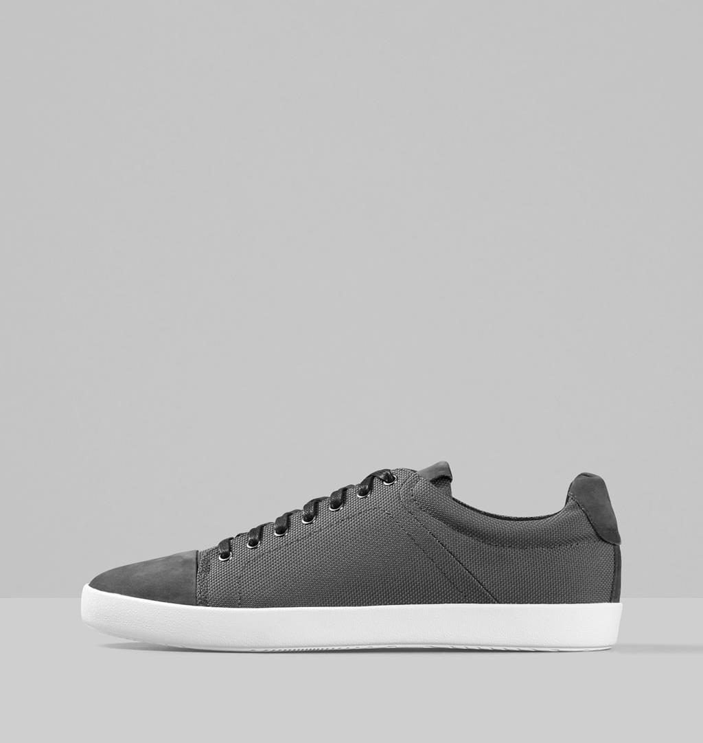 Vince Textile/leather Sneakers - Grey