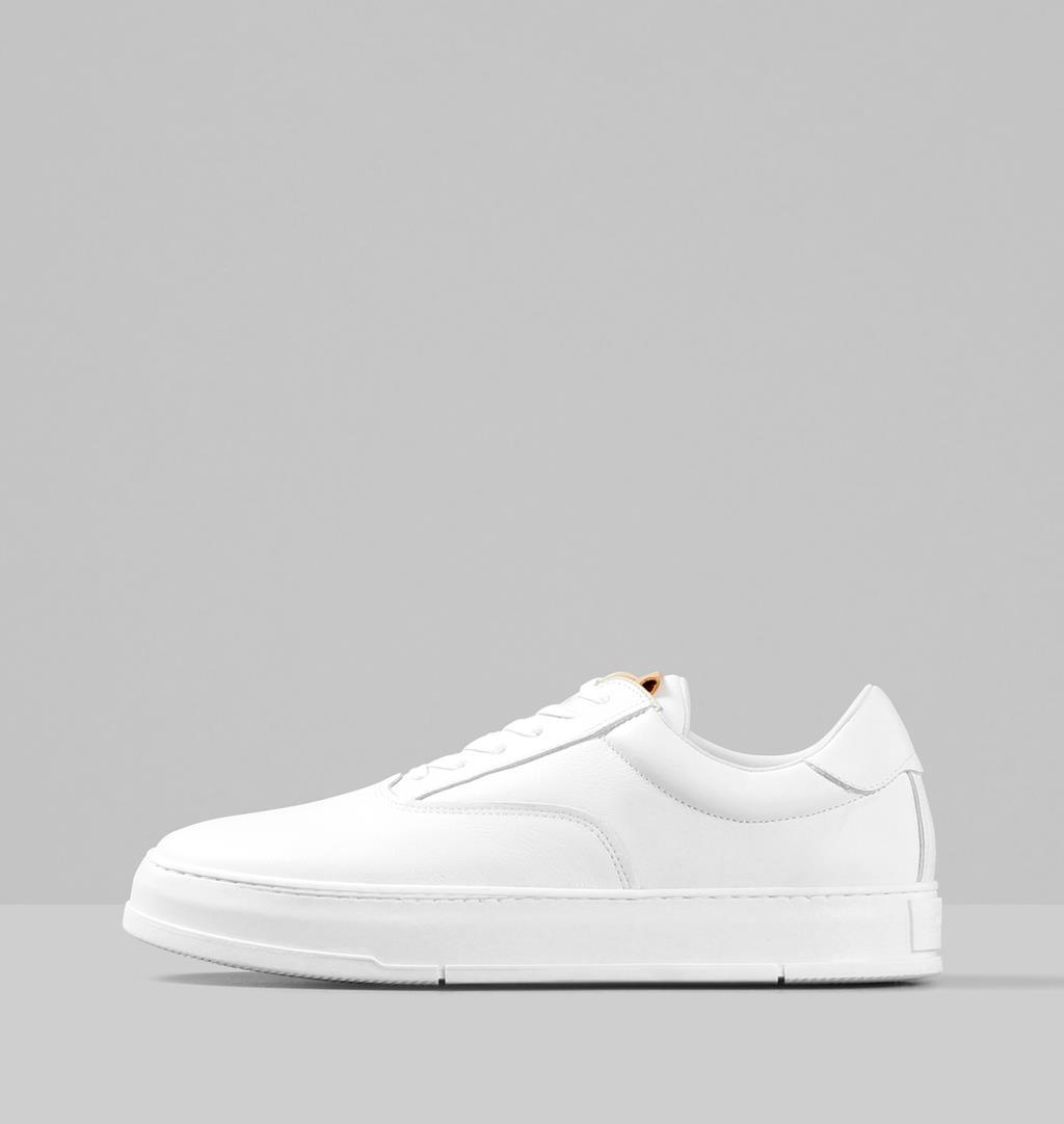 John Leather Sneakers - White - Vagabond