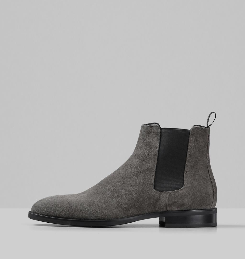 Percy Suede Boots - Grey - Vagabond