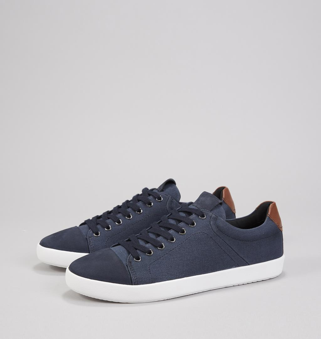 Vince Textile/leather Sneakers - Blue