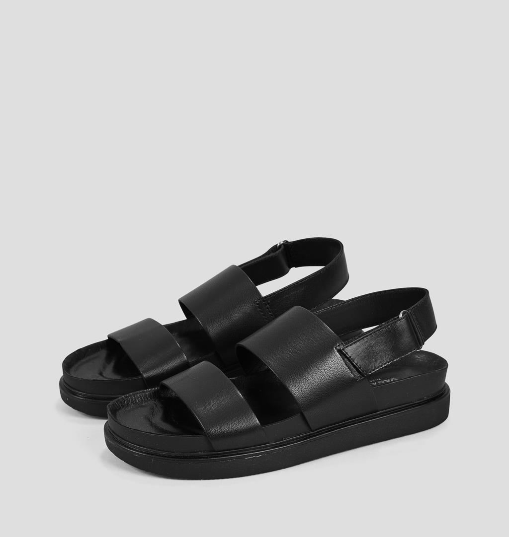 Vagabond Erin Cheville Sangle Chaussures femme sandales noires