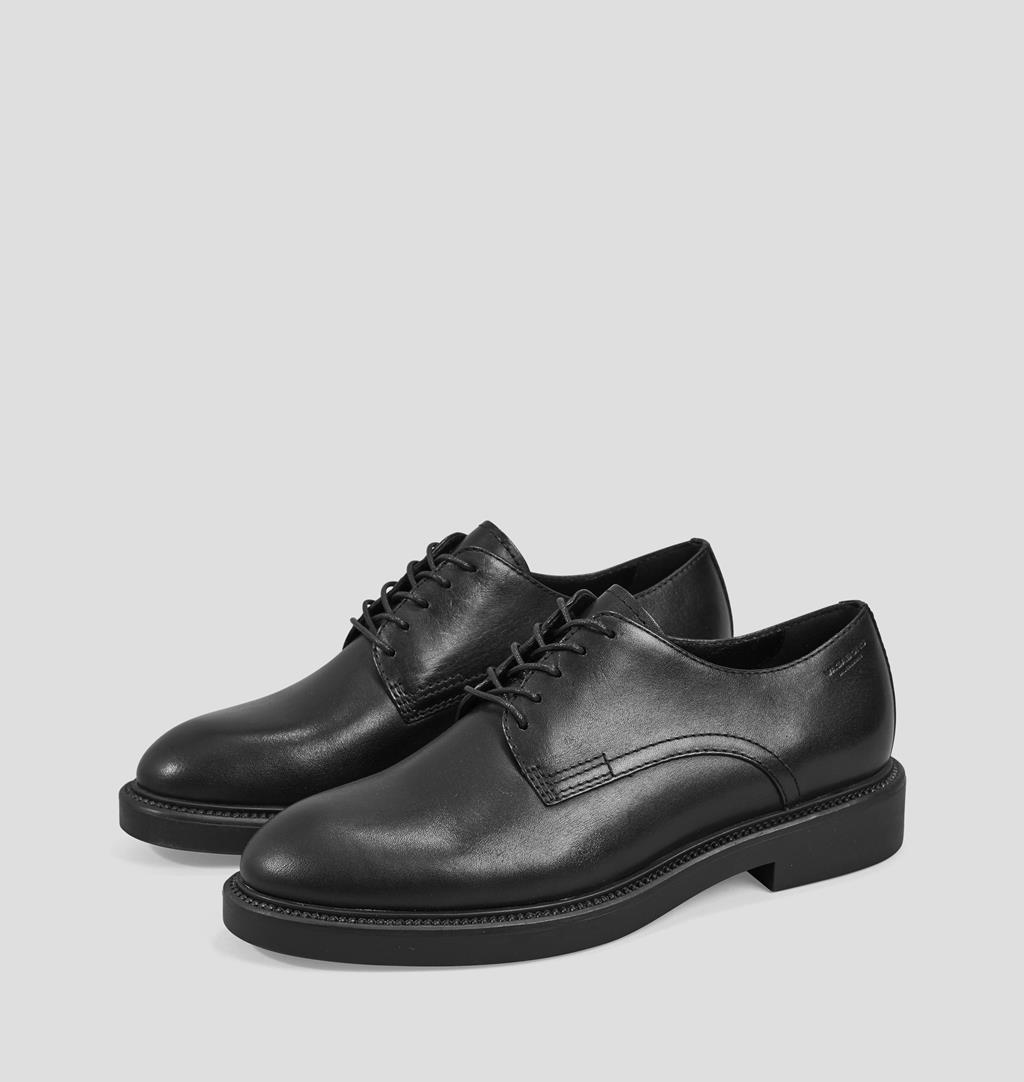Alex w Leather Shoes - Black - Vagabond