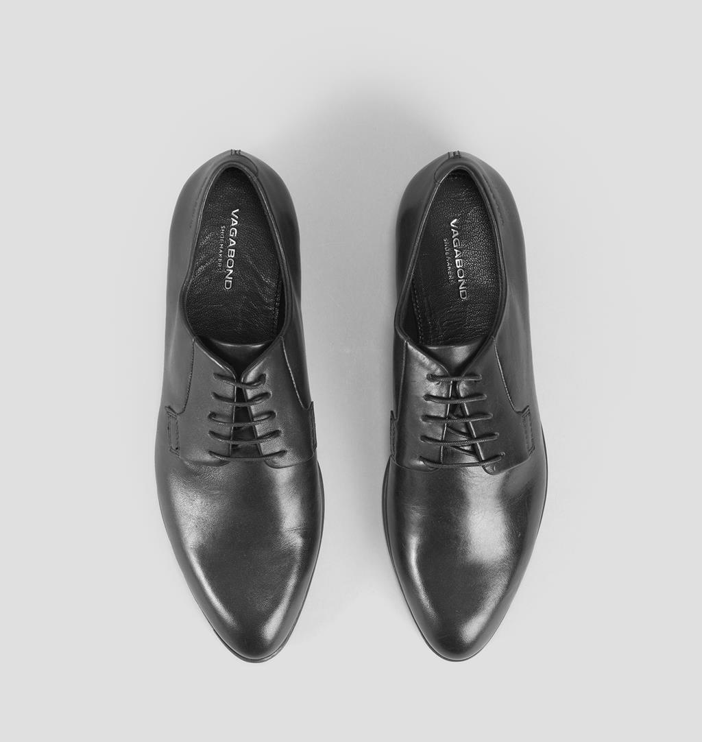 Frances Leather Shoes - Black - Vagabond