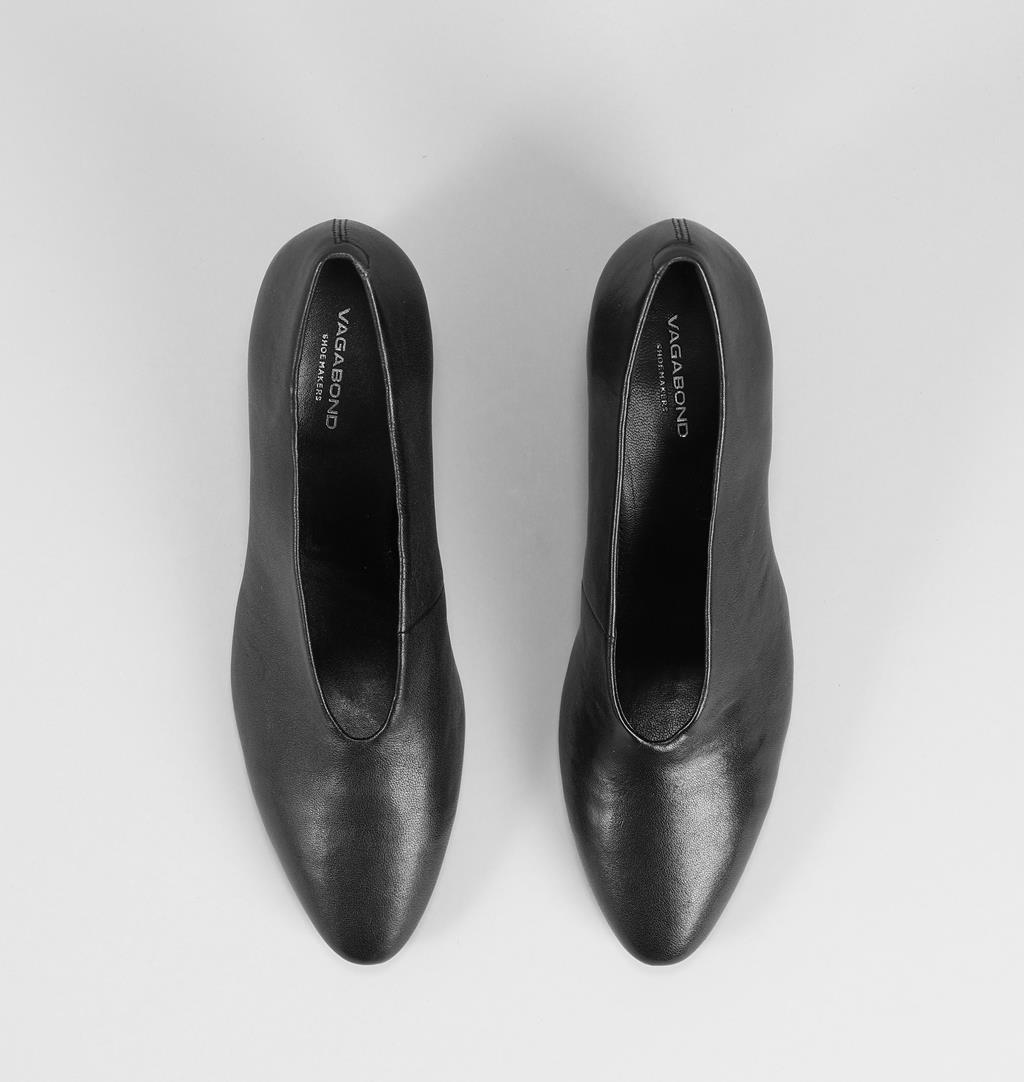 Eve Leather Pumps Black Vagabond