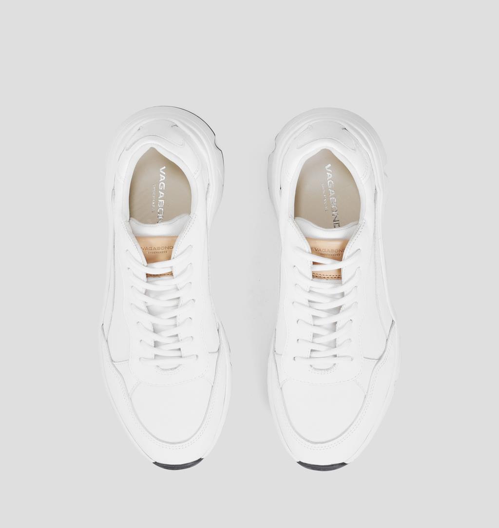 Quincy Shoes White Vagabond