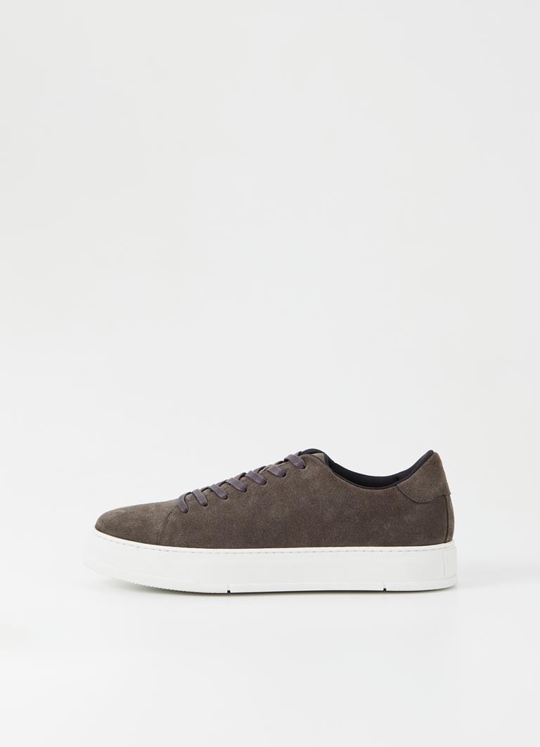 John Dk Grey Cow Suede Sneakers