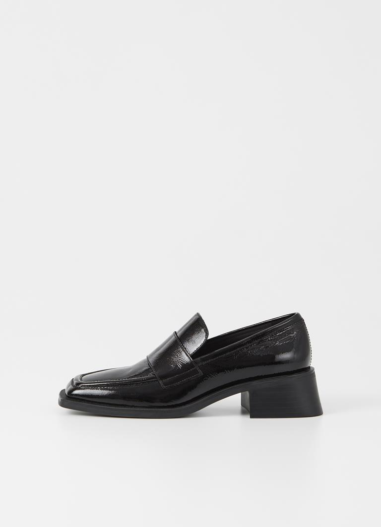 Blanca Black Cow Leather Loafer