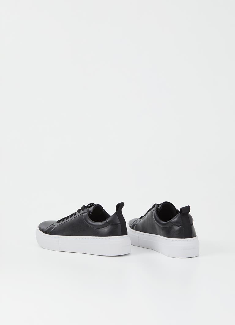 Zoe platform Black Synthetic Sneakers