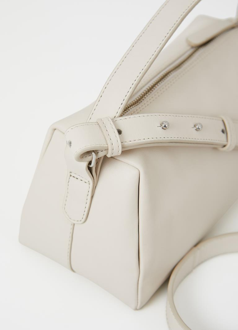 Florina Off White Cow Leather Bag