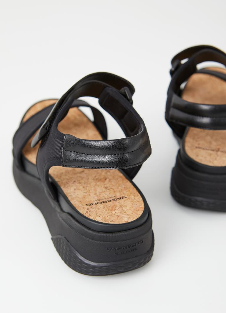 Lori Black/Black Synthetic Sandals