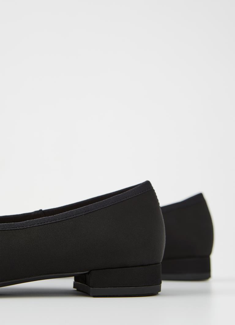 Layla Black Textile Shoes