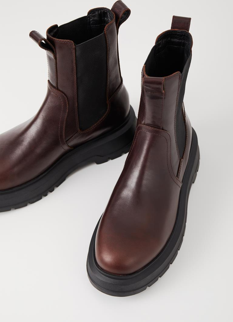 Jeff Java Cow Leather Boots