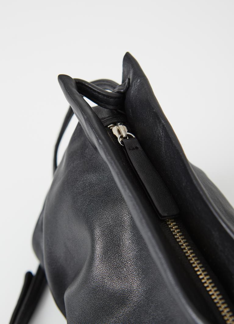 Rio Black Cow Leather Bag