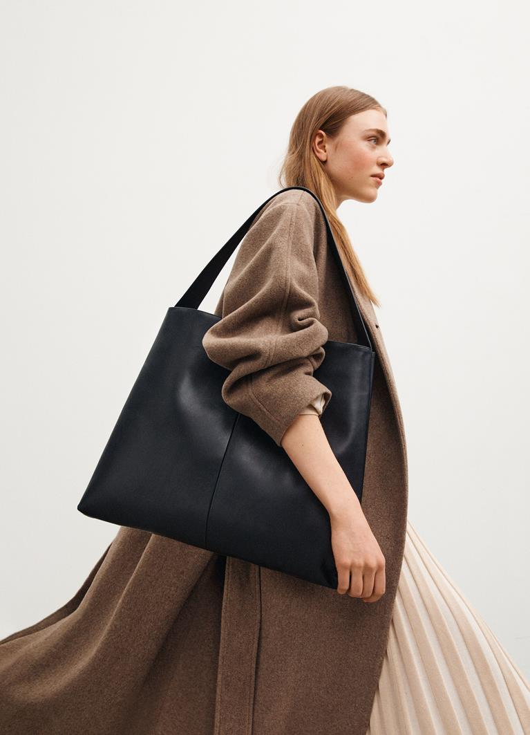 Milazzo Black Cow Leather Bag
